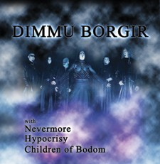 Dimmu Borgir, Nevermore, Children of Bodom, Hypocrisy