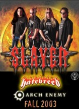 JagerMeister Tour - Slayer, Hatebreed, Arch Enemy, and Hemlock